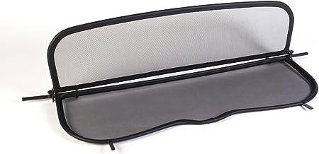 avec fermeture rapide Filet Anti-Remous Coupe - Pliable GermanTuningParts D/éflecteur de vent pour BMW E30 Noir 1988-1993 D/éflecteur dair
