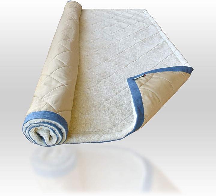 tappetino in bio-ceramica per cani e gatti (140x120, blu scuro) lovehorses b081z546h9