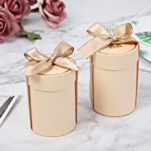 20PCS Creative Wedding Decoration Cylinder Candy Box Wedding Party Favor and Gift Box Paper Boxes for Packaging Gift Bags