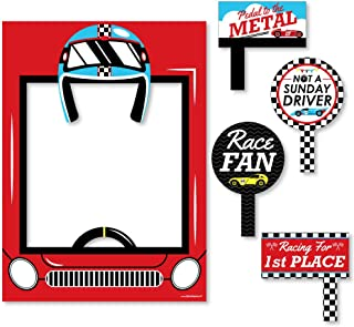 Red//Brown//White 37 1//2 X 24 1//2 AmscanDisney Cars Formula Racer Birthday Party Game