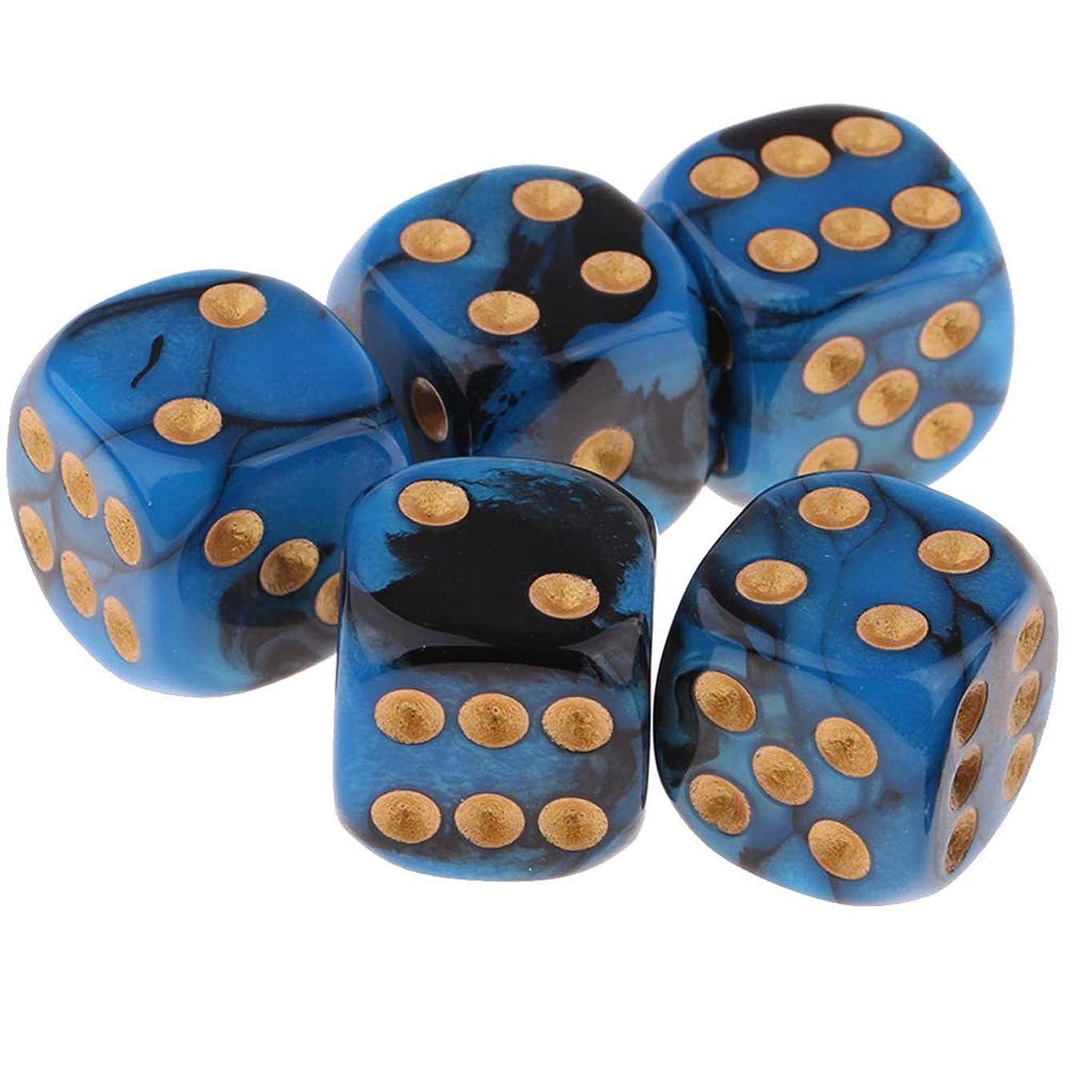 合唱団九ノイズダイス 6面サイコロ テーブルゲーム用 5個 全3選択 - 03