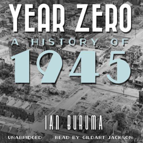 Year Zero audiobook cover art