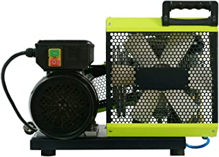 HPDMC 4500psi High Pressure Electric Air Compressor for PCP Air Rifle Paintball SCUBA SCBA Tanks Filling (Green)