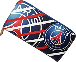 STER-TSP Paris Saint-Germain (PSG) Fc Wallet Soccer Club Unisex PU Zip Long Wallet