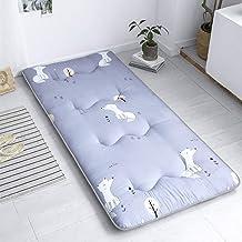 Futon Mattress Topper, 4cm Foldable Breathable Non-Slip Tatami Mattress for Bedroom, Office and Student Dorm,G,100 * 200cm...