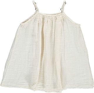 RkBaoye Baby Little Girls Beach Tank Solid Summer Sleeveless Skirt Dress