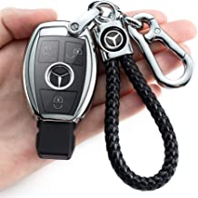 Compatible with Mercedes-Benz C E G S M GL CLS CLK G-Class keyless Smart Key Chain Cover/_Pink. N//A Suitable for Mercedes-Benz Key Chain Cover Special Soft TPU Key Shell Cover Protective Cover