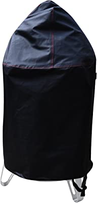 """BBQ Coverpro 99915 Vinyl Heavy Duty Smoker Cover Fit Weber 22"""" Charcoal Smokey Mountain Cooker"""
