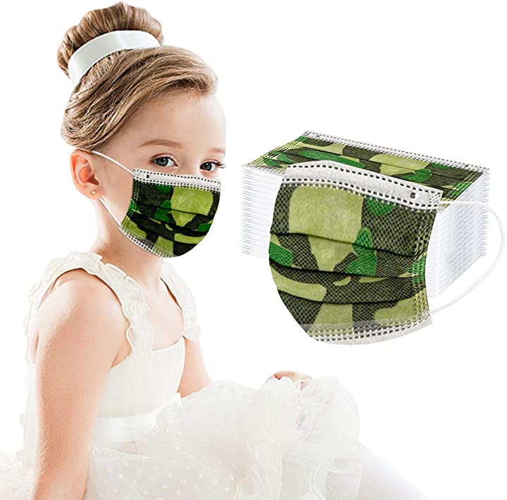 Mascherina bambini usa e getta- 100 pezzi momoxi B08HJ5QXXS