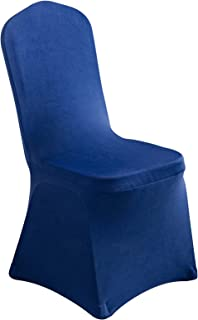 CUFZUZ Spandex Dining Room Chair Covers for Living Room - Universal Stretch Chair Slipcovers Protector for Wedding, Banque...