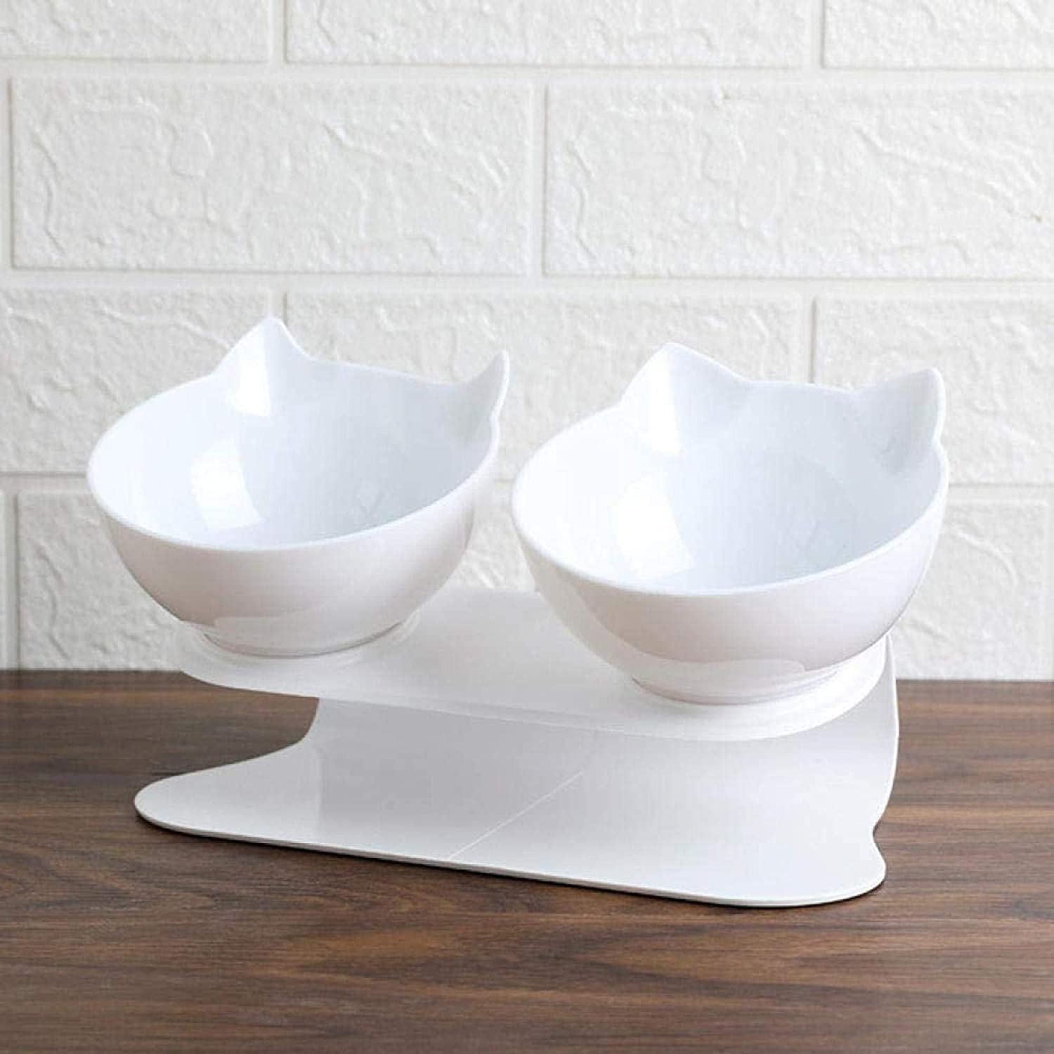 XHJTD Elevated Pet Bowls Super Special SALE held Creative Cheap Double with Raised Stan