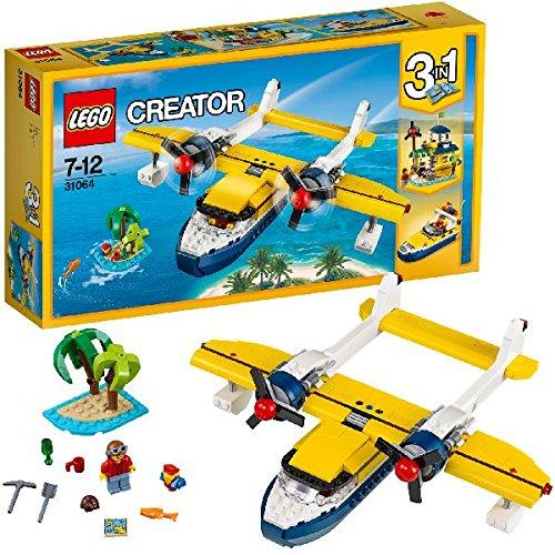 LEGO Creator 31064 - Wasserflugzeug-Abenteuer, Cooles Spielzeug für Kinder