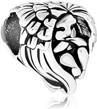 Jesse Ortega 925 Sterling Silver Protect Me Guardian Angel Prayer Lucky Charms Bead fit Bracelets