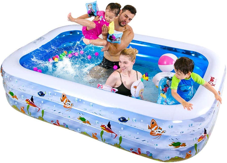 Bloomy Home- Kinderbecken aufblasbare Familie Babybecken - Erwachsene Home Ball Badewanne Verdickung übergroen Fun Lounge Pool (gre   M)