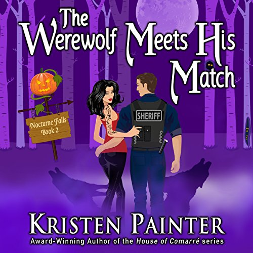 The Werewolf Meets His Match audiobook cover art