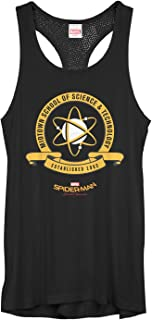 Marvel Juniors' Spider-Man Homecoming Midtown School Crest Mesh Racerback Tank