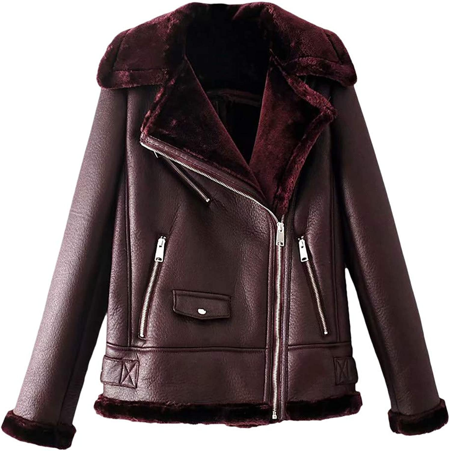 Kingfansion Women Womans Winter Jacket Winter Overcoat Outwear Coat Cardigan Parka Trench