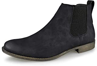 Hawkwell Men's Dress Casual Chelsea Boot Chukka Ankle Boots