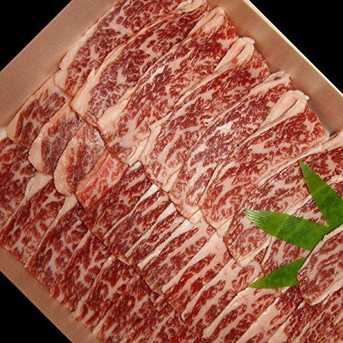 【敬老の日 プレゼント・カード付】村上牛 焼肉用 上カルビ 500g