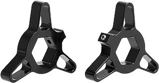 Mtsooning 2Pcs 14mm Blade Fork Preload Adjusters for GSXR 1000 Kawasaki Z 750 Yamaha R1 Black
