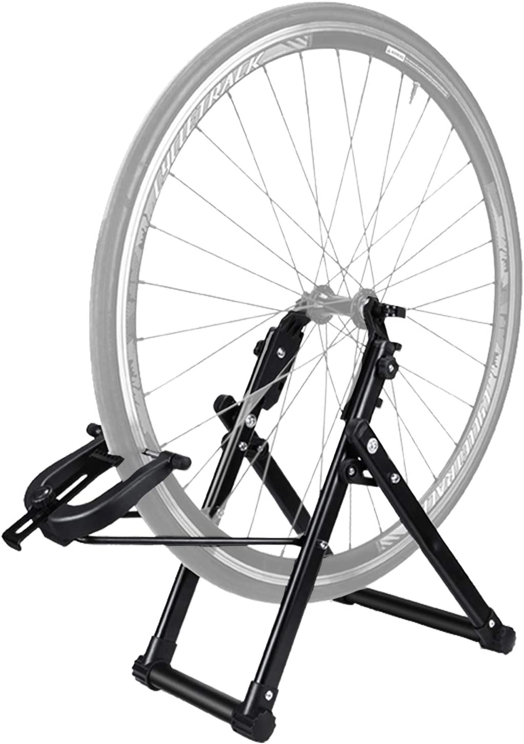 """Clothink Bike Wheel Truing Stand Bicycle Wheel Maintenance Home Mechanic Truing Stand Fits 16"""" - 29"""" 700C Wheels : Sports & Outdoors"""