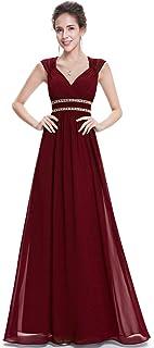 6f25c079e1eec Ever-Pretty Col V Robe de Soirée Longue Élégante Femme 08697