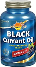 Nature's Life Black Currant Seed Oil 1000 mg   With Omega-3 ALA, Omega-6 GLA and Stearidonic Acid   60ct, 60 Servings