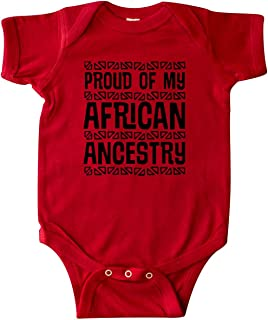 Black History Proud African Ancestry Infant Creeper