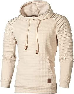 Caopixx Sweatshirt for Men 2019 Mens' Hooded Pullover Jacket Coat Outwear