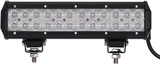 Leetop 72W LED Arbeitsscheinwerfer weiß 12V 24V Flutlicht Reflektor Work Light Bar Scheinwerfer Arbeitslicht Offroad Arbeitslampe für Traktor