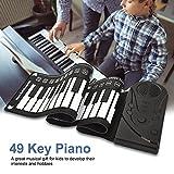 Zoom IMG-1 bnineteenteam pianoforte portatile arrotolabile a