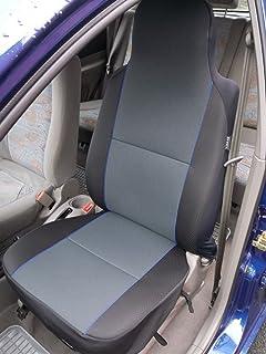 Citroen Xsara Picasso color gris con azul de rayas – 2 cubiertas de asiento delantero