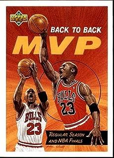1992/1993 Upper Deck Michael Jordan #67 Back to Back Mvp Basketball Car