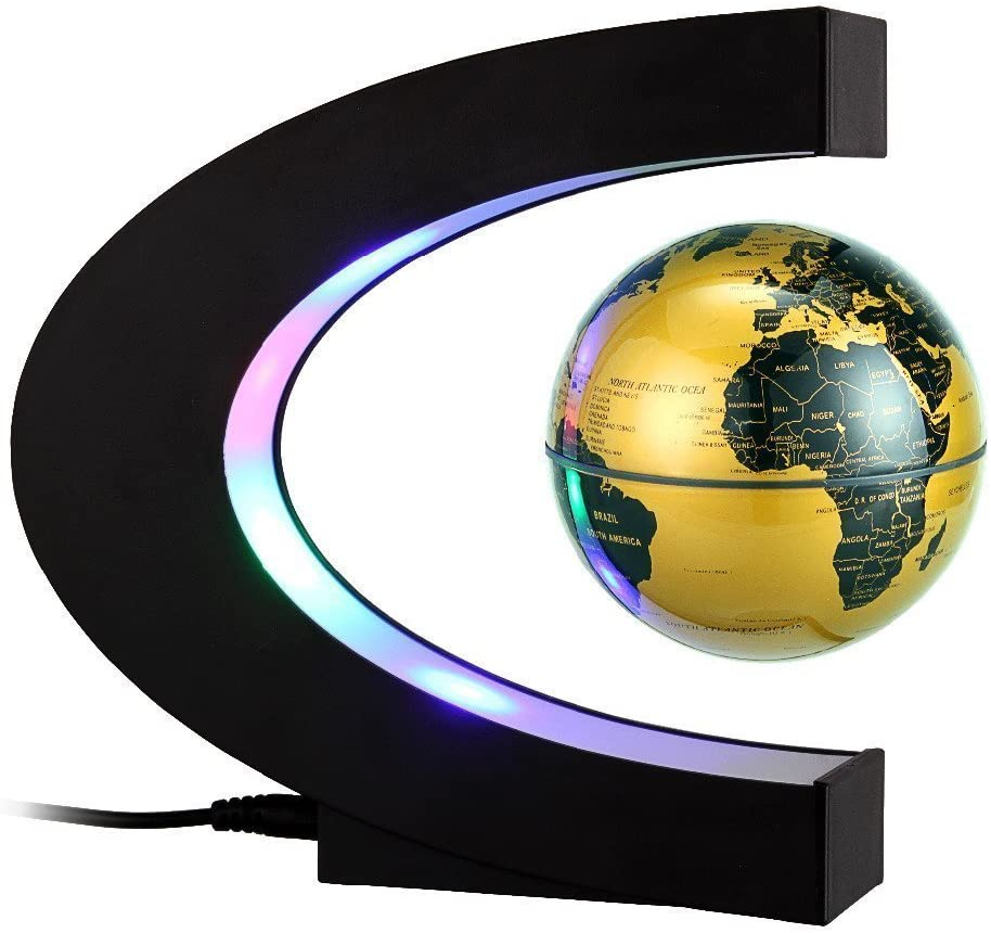 Floating Globe Arvin Magnetic Rotating Regular Max 56% OFF store E Levitation