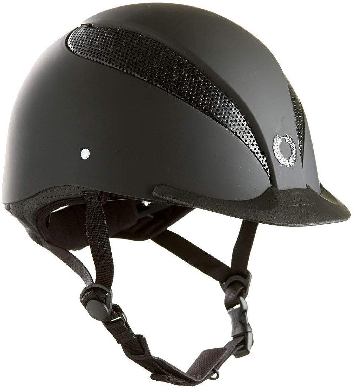 4acaaacbf32e0 Riding Tech Air Champion Hat Silk Black Small mxap7e7e34294-Sporting ...