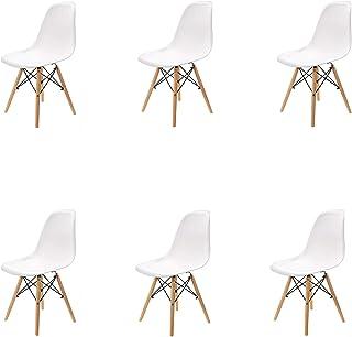 N / A Pack 4/6 sillas, sillas de Comedor Silla de Oficina