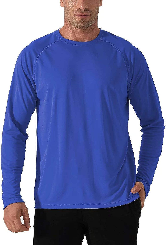 Louisville-Jefferson County Mall KEFITEVD Men's UPF 50+ UV Protection Weekly update Performance Sun Long Sleeve