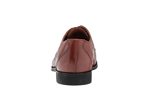 Black Clarks Mode Leather Tan LeatherDark Gilman YxawFv