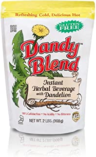 Dandy Blend Instant Herbal Beverage with Dandelion, 2lb / 908g (Packaging may vary)
