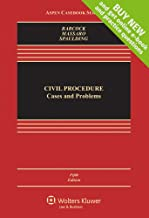 Civil Procedure: Cases and Problems [Connected Casebook] (Looseleaf) (Aspen Casebook)