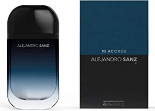 Alejandro Sanz, Mi Acorde, El, Fragrance, for Men, Eau de Toilette, EDT, 3.4oz, 100ml, Cologne, Spray, Made in Spain, by Tailored Perfumes