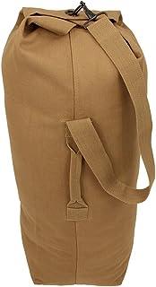10T TLC Duffle M Bag 50L Seesack 80x25x25 cm Reisetasche Canvas Rucksack Sporttasche 100% Baumwolle