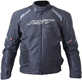 RST Spectre Waterproof Textile Motorcycle/Motorbike Jacket - Black 2XL