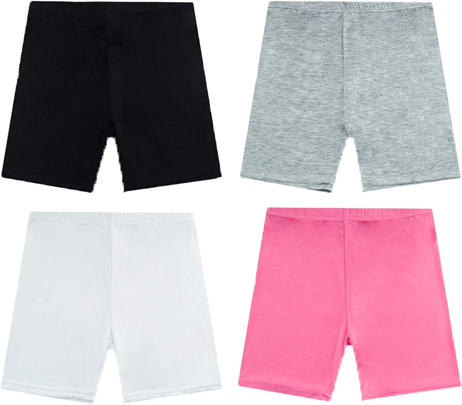 NEWITIN 4 Pieces Dance Shorts Comfor Credence Breathable Limited price Girls Bike Short