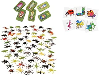 Insect Bug Toy Party Favor Supplies 228 Piece Set for 12 Bundle