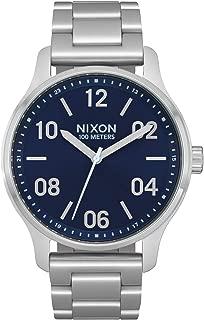 Nixon Patrol Watch - Navy/Silver