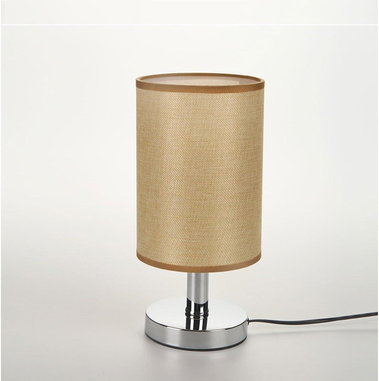 LED Schreibtischlampe Schlafzimmer Nachttisch einfache kreative Nachttischlampe Lampe Schalter Bett Schlafzimmer Deskside helle Lampe
