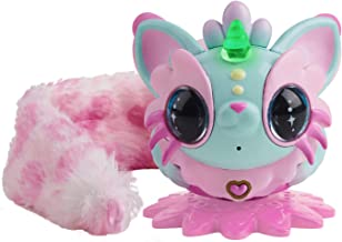 WowWee Pixie Belles - Aurora (Turquoise) - Interactive Enchanted Animal Toy