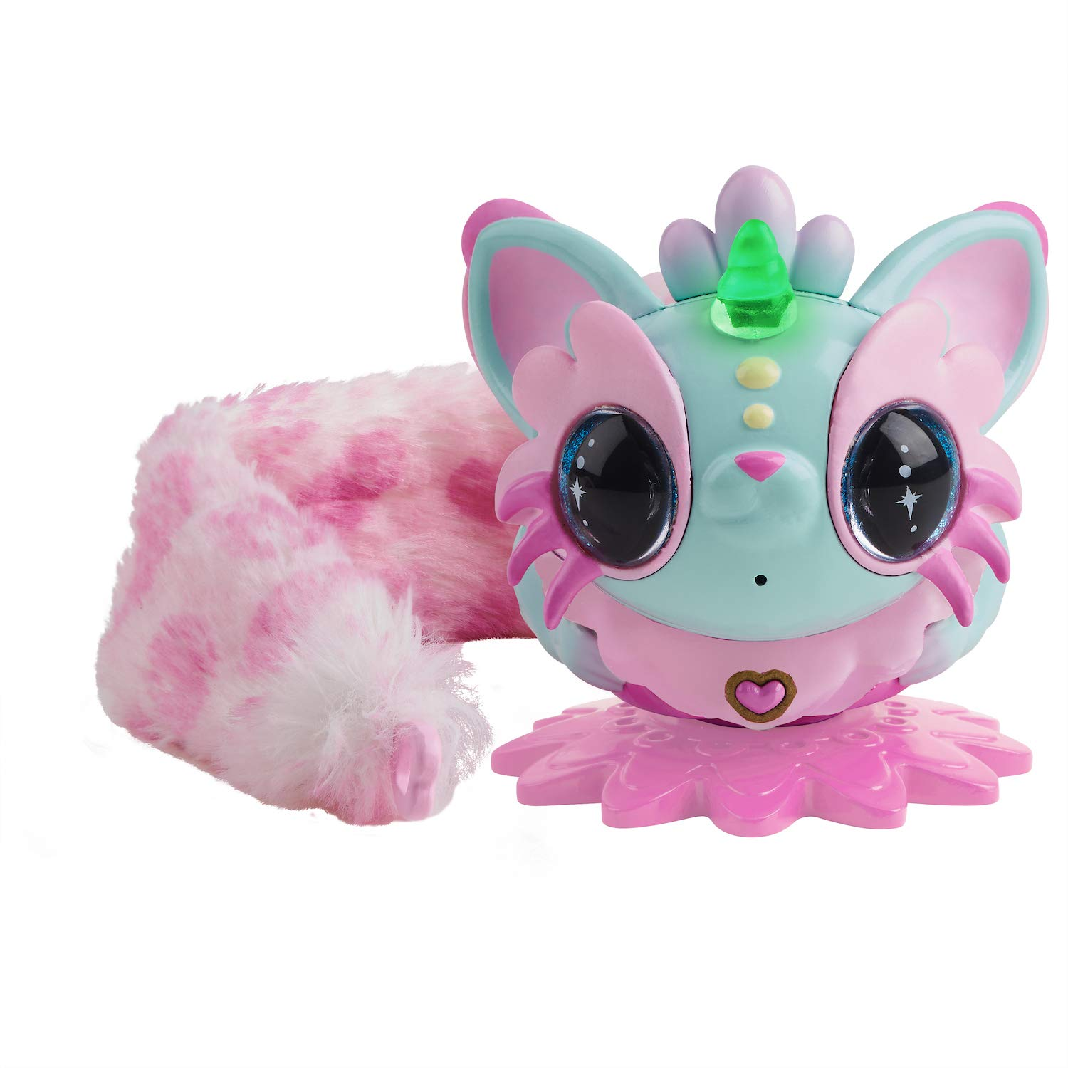 해치멀 픽시 벨 Hatchimals Pixie Belles - Interactive Enchanted Animal Toy, Aurora (Turquoise)