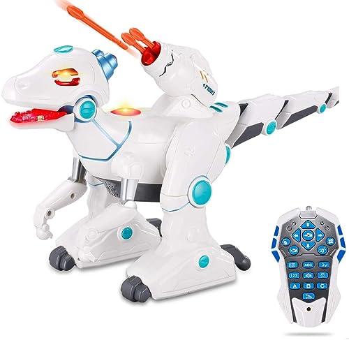 Ydq Jouets De Dinosaure, Dragon électrique à Distance, éjecteur Multifonction Rechargeable, Dinosaure électronique avec Pied pour Enfant De Dinosaure, Jouets Interactifs Intelligents.